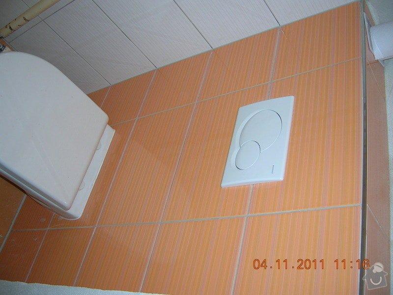 Rekonstrukce koupelny a WC: DSCN4166