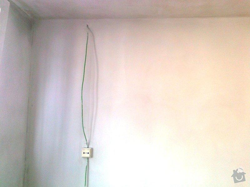 Částečná rekonstrukce obývacího pokoje: 010