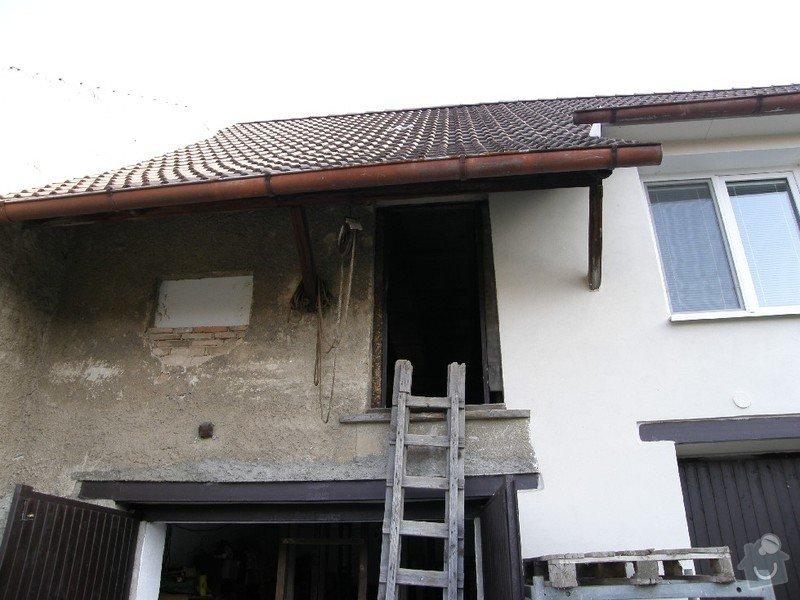 Zednické práce - rekonstrukce místnosti: 2