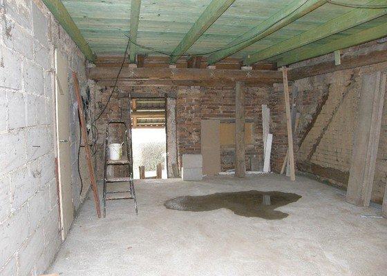 Zednické práce - rekonstrukce místnosti