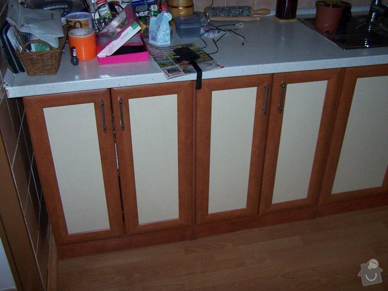 Rekonstrukce kuchyňské linky - dvířka: 103_4819