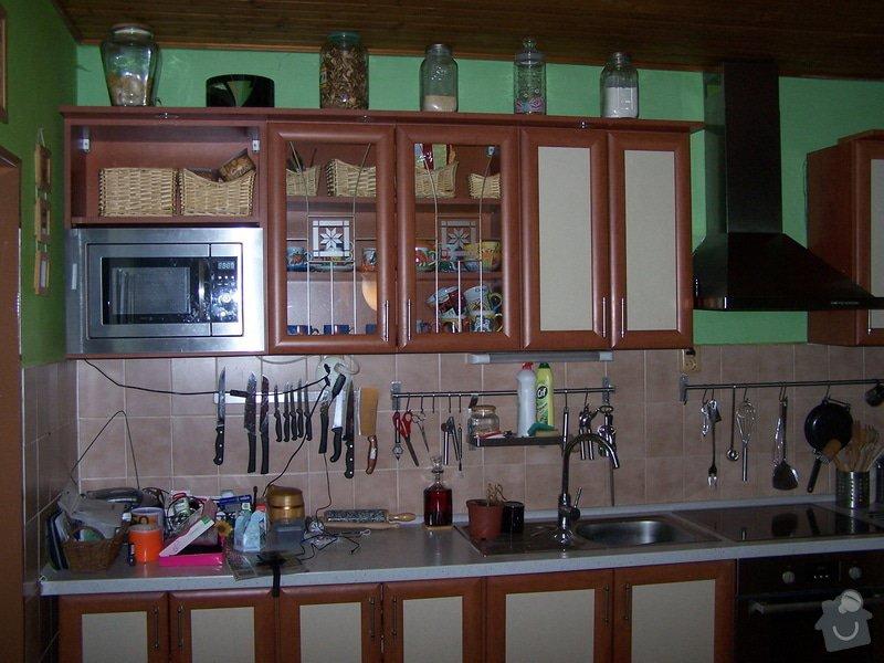 Rekonstrukce kuchyňské linky - dvířka: 103_4820