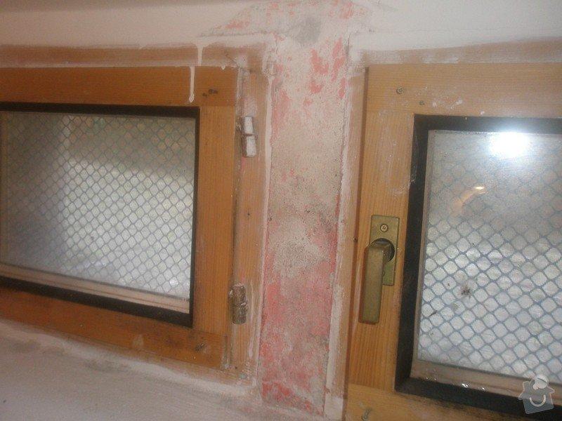 Malba bytu s výskytem vlhka a plísní: 1