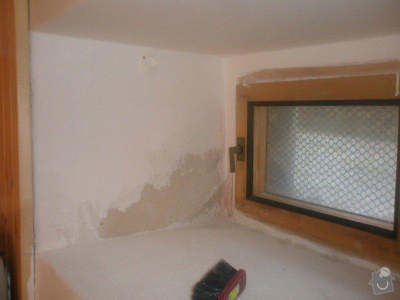 Malba bytu s výskytem vlhka a plísní: 2