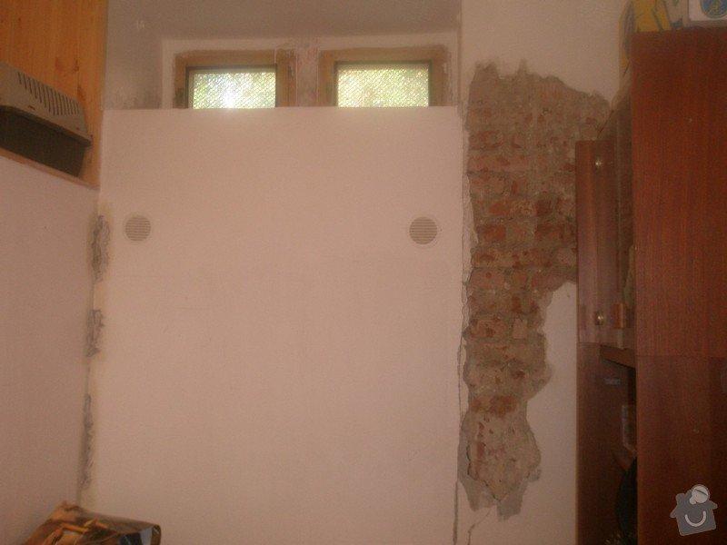 Malba bytu s výskytem vlhka a plísní: 4