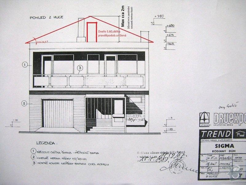 Přestavbu střechy rodinn.domku: IMG_5194