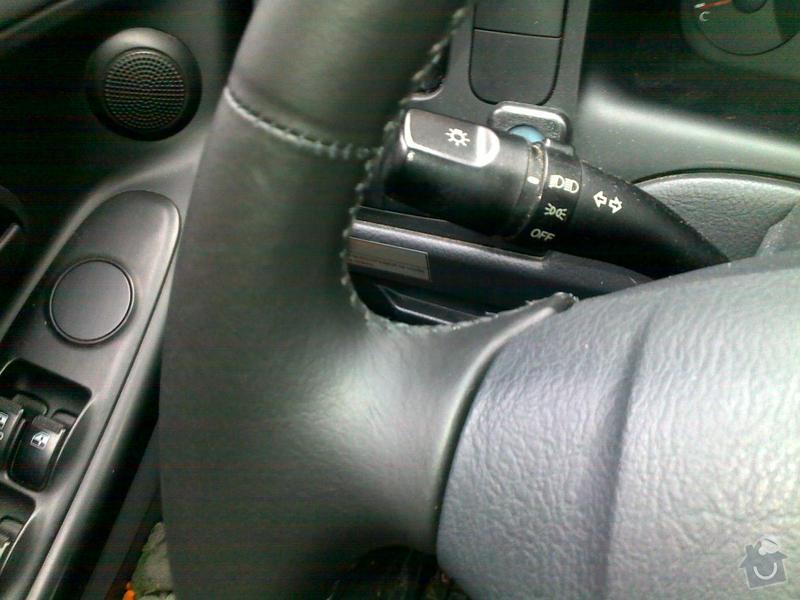 Autočalouník, očalounění volantu: 11112011013