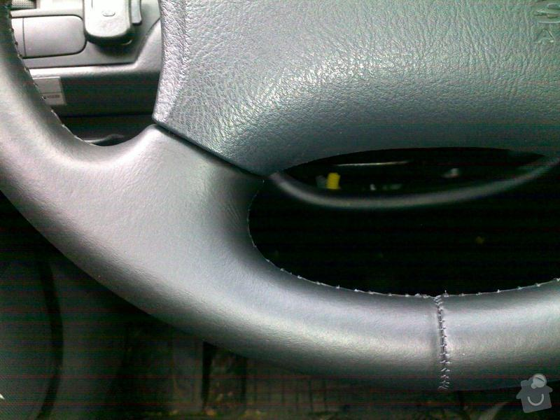 Autočalouník, očalounění volantu: 11112011016