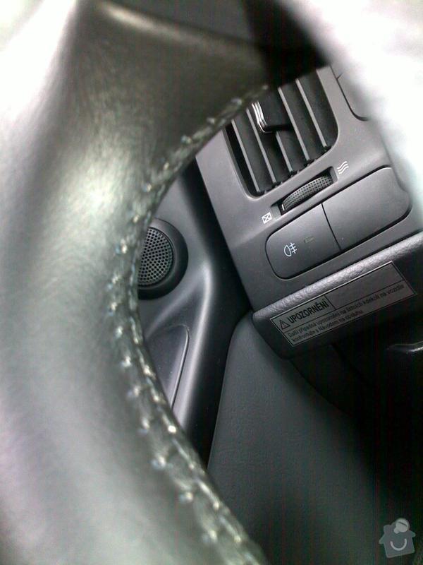 Autočalouník, očalounění volantu: 11112011017
