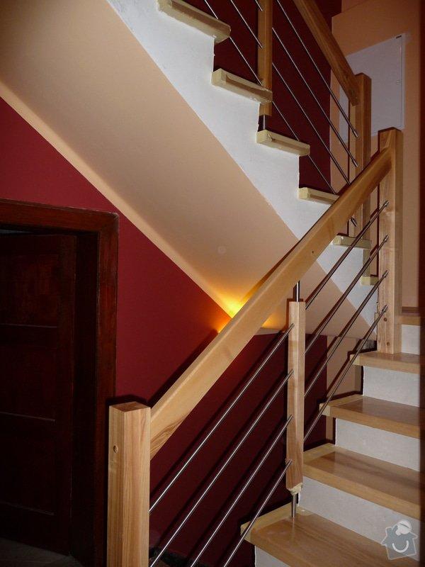 Schody za zábradlí schodiště z Jasanu: P1050683