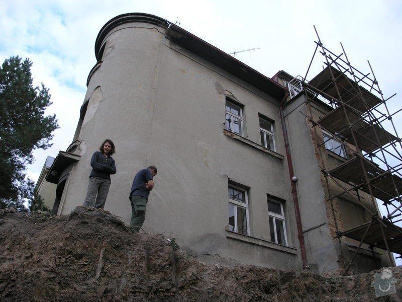 Rekonstrukce starého domu, stavba garáže: malv4