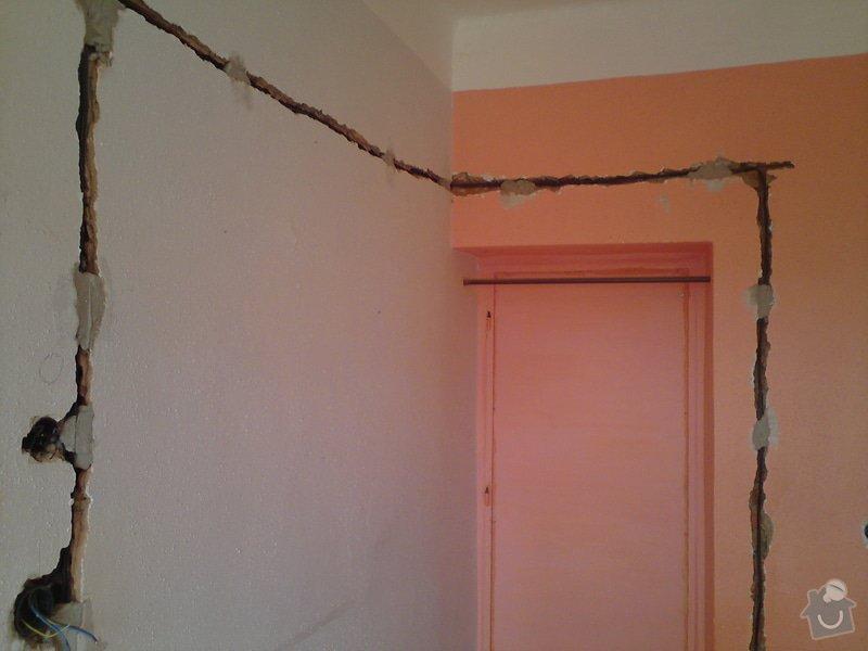 Kompletní rekonstrukce elektroinstalace v rodinném domě: DSC00308