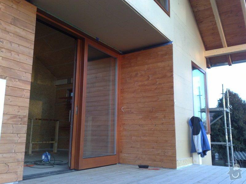 Montáž dřevostavby: 22032010514