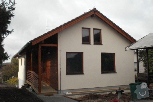Montáž dřevostavby: DSC08235