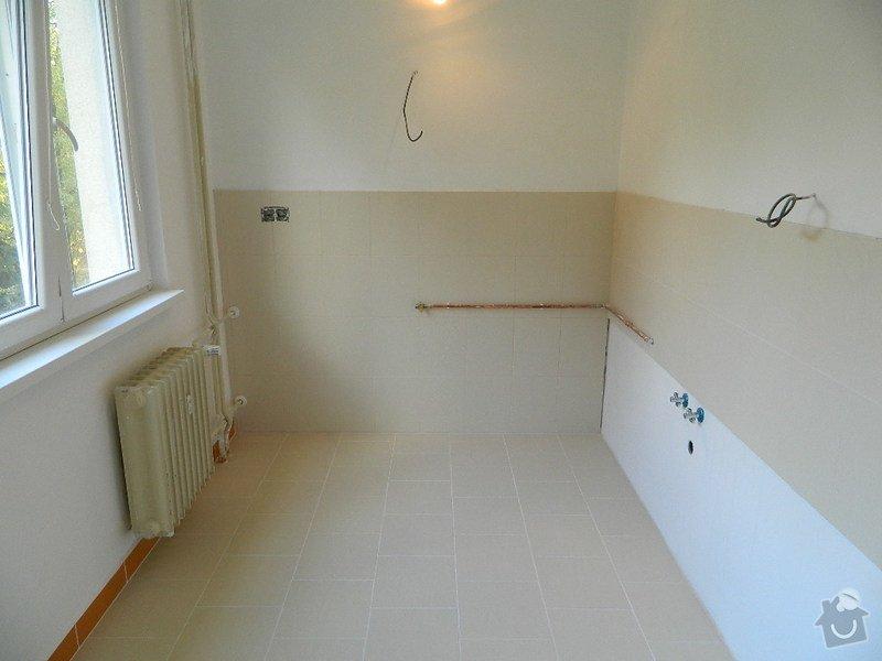 Komplexní rekonstrukce bytového jádra,kuchyně, dodání a montáž plastových oken: DSCN1073