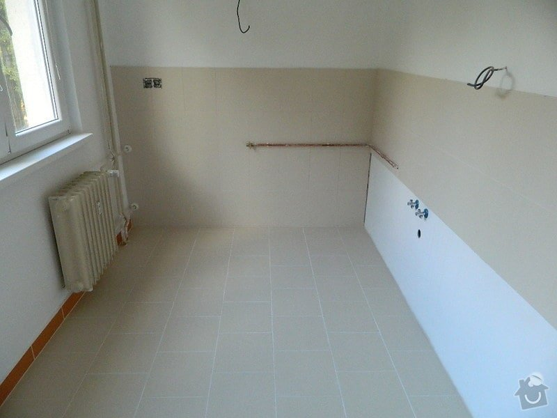 Komplexní rekonstrukce bytového jádra,kuchyně, dodání a montáž plastových oken: DSCN1074