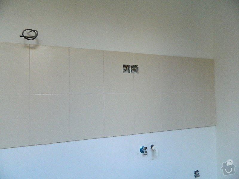 Komplexní rekonstrukce bytového jádra,kuchyně, dodání a montáž plastových oken: DSCN1075