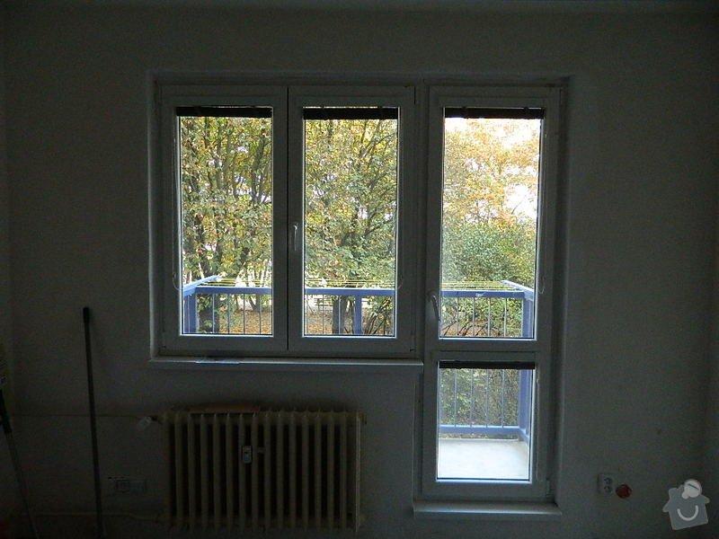 Komplexní rekonstrukce bytového jádra,kuchyně, dodání a montáž plastových oken: DSCN1078