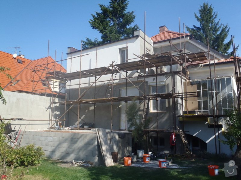 Rekonstrukce fasády Poděbrady: P9040001