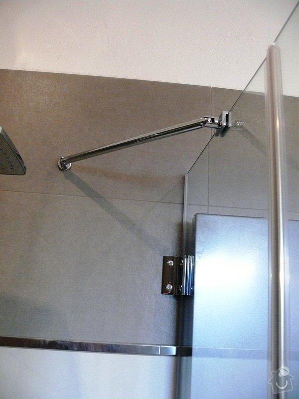Skleněný sprchový kout + celoskleněné dveře + VIDEO: P1010173