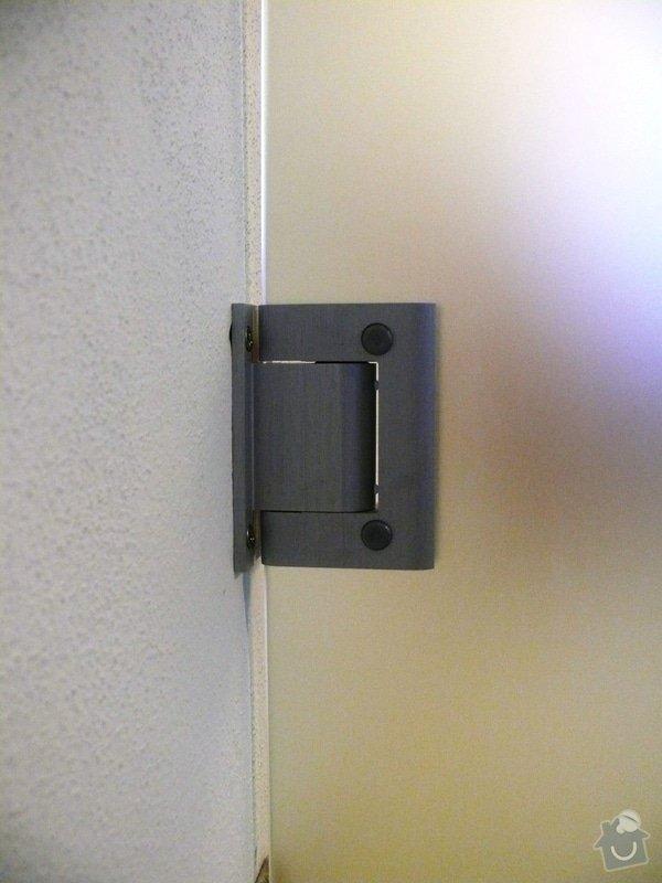 Skleněný sprchový kout + celoskleněné dveře + VIDEO: P1010179
