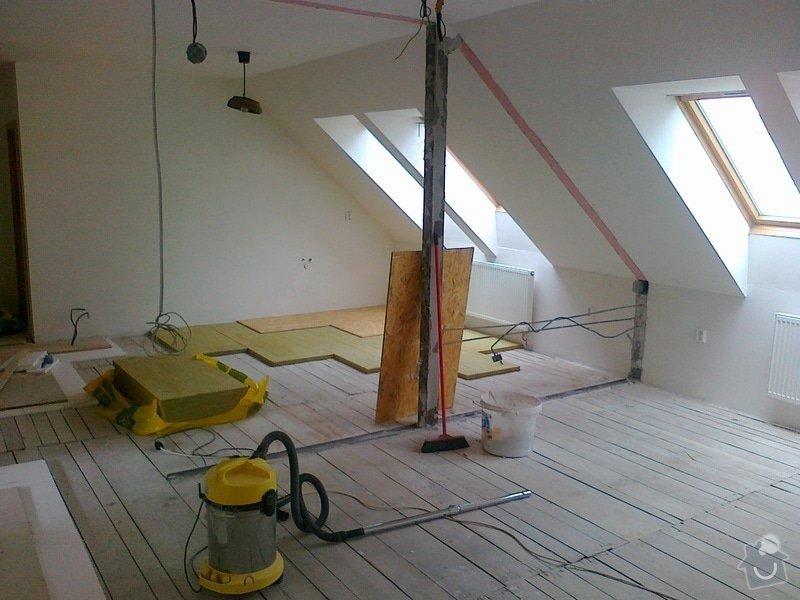 Bourací práce,montáž akustické QSB podlahy: 0_008