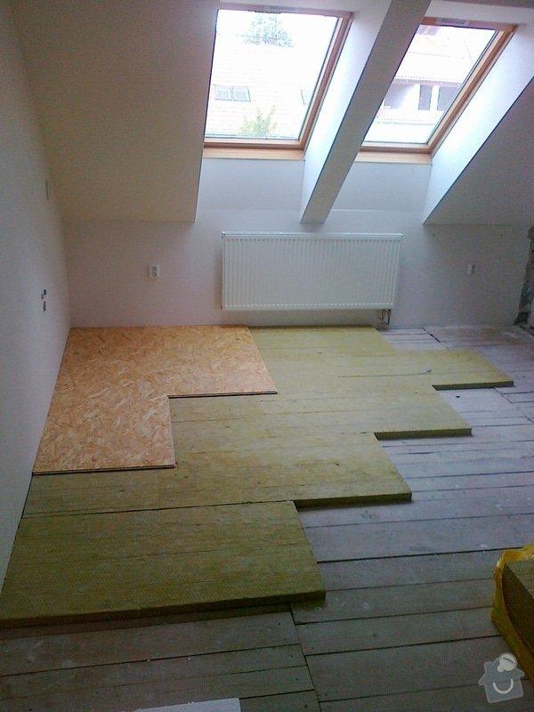 Bourací práce,montáž akustické QSB podlahy: 0_009