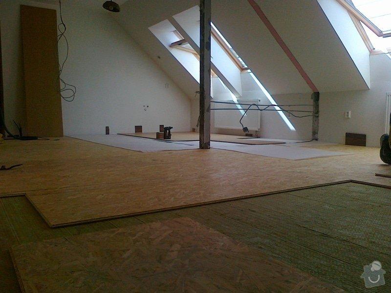 Bourací práce,montáž akustické QSB podlahy: 0_011