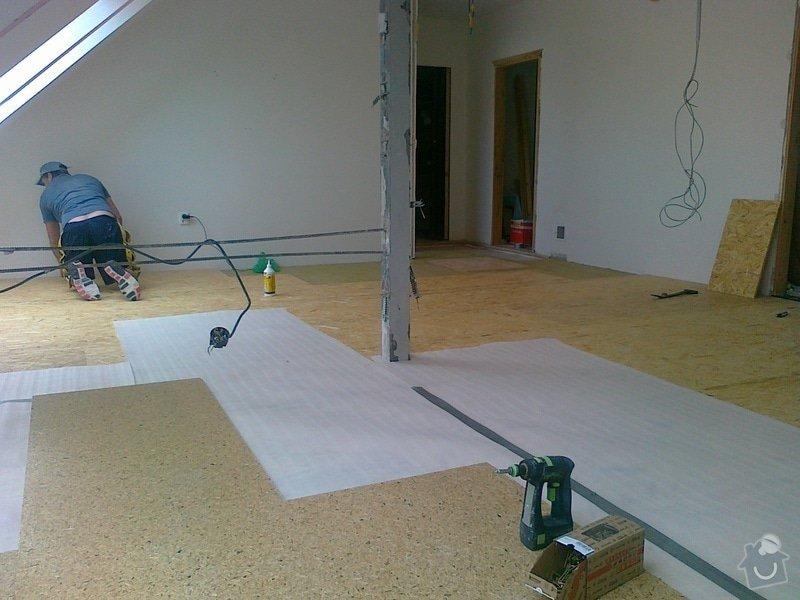 Bourací práce,montáž akustické QSB podlahy: 0_012