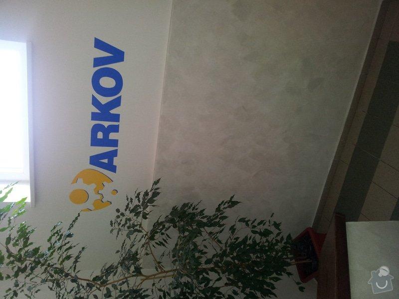 Vnitřní malby + malba loga firmy na vnitřní a venkovní zeď: 2011-11-16_08.41.52