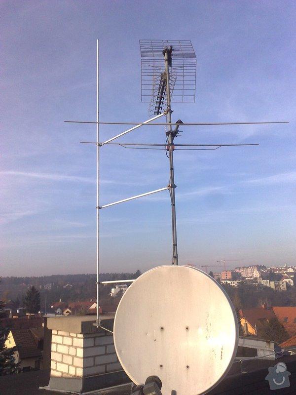 Oprava HROMOSVODU po rekonstrukci střechy + revize: 141120111014