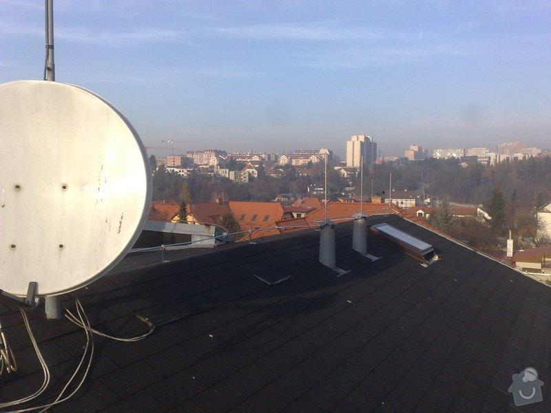 Oprava HROMOSVODU po rekonstrukci střechy + revize: 141120111015