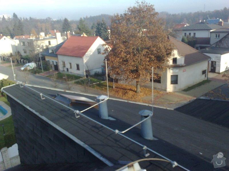 Oprava HROMOSVODU po rekonstrukci střechy + revize: 141120111017