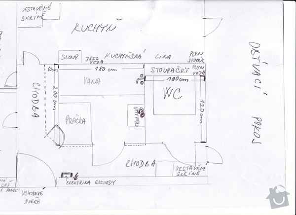 Rekonstrukce bytoveho jadra: Scan10002
