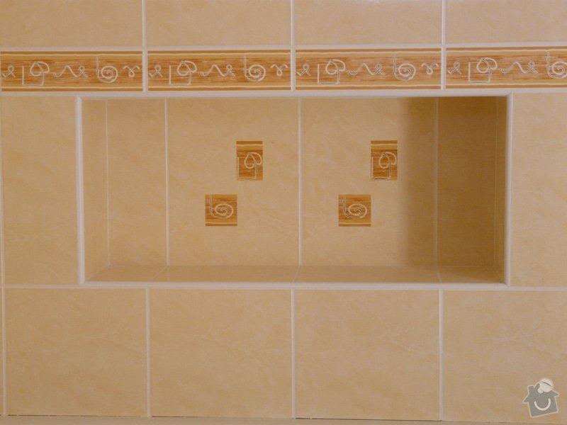 Přestavba koupelny v RD,nové omítky a kompletní obklad v četně dlažby: P1020150