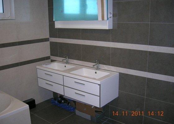 Obložení koupelen a WC