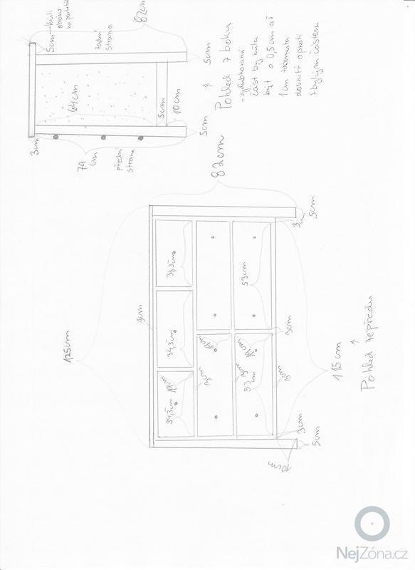 2x dřevěná komoda : Nakres_001