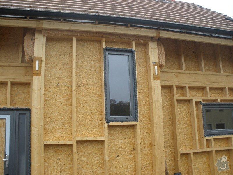 Dodávka a montáž - plastová okna v dřevostavbě: PA280406
