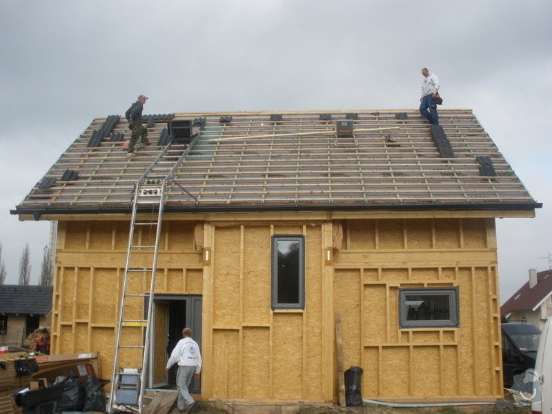 Dodávka a montáž - plastová okna v dřevostavbě: PA280409