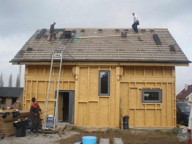 Dodávka a montáž - plastová okna v dřevostavbě: PA280410