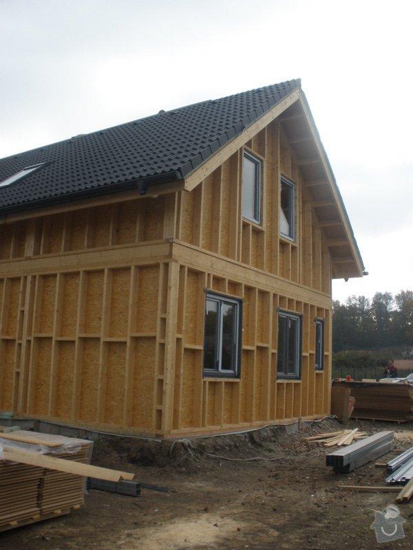 Dodávka a montáž - plastová okna v dřevostavbě: PA280413
