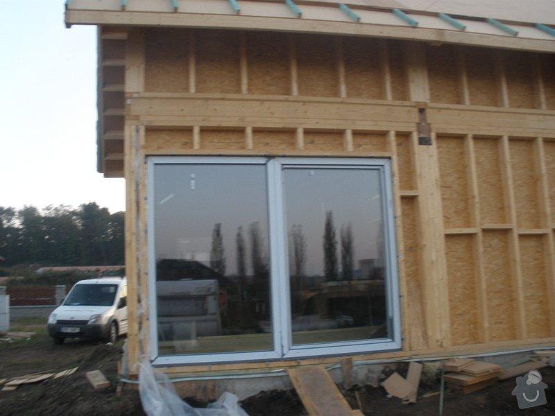 Dodávka a montáž - plastová okna v dřevostavbě: PA220364_kopie