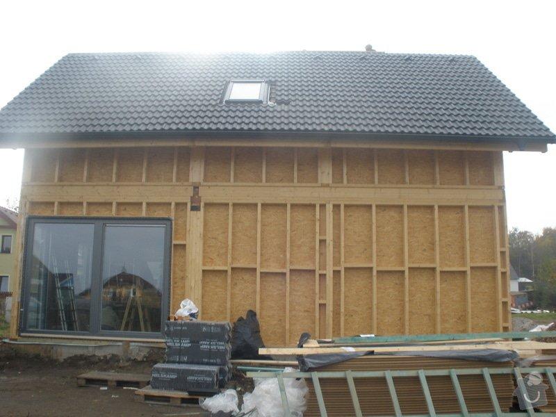 Dodávka a montáž - plastová okna v dřevostavbě: PA280411