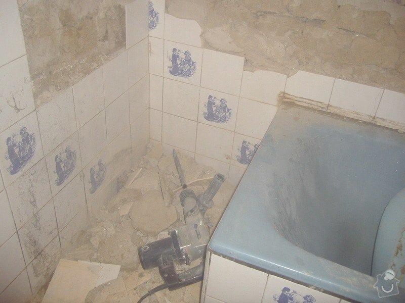 Rekonstrukce koupelny: 3.11.2