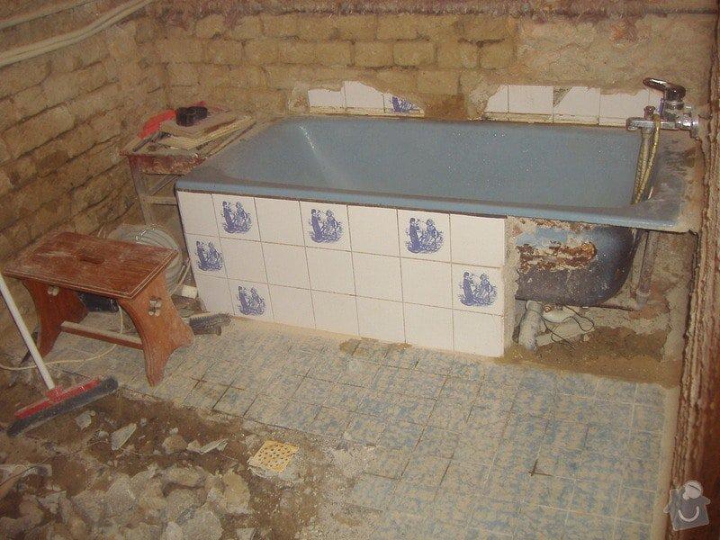 Rekonstrukce koupelny: 3.11.4