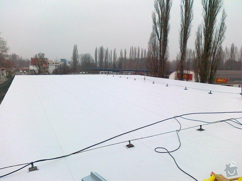 Izolace střechy pro firmu IMMOVA s.r.o na obchodním domě KIK: 17112011321