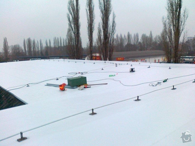 Izolace střechy pro firmu IMMOVA s.r.o na obchodním domě KIK: 17112011323