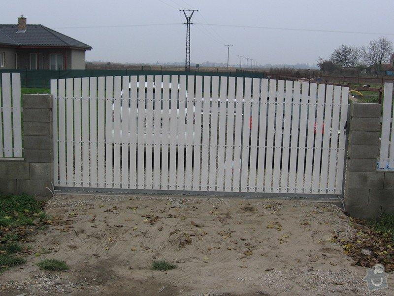 Pojezdová brána a branka.: IMG_2524