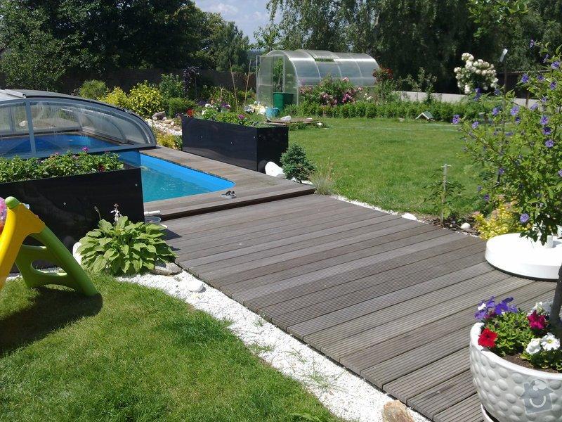 Výroba dětského pokoje, terasy kolem bázenu a nábytku do kanceláře: 27062011152