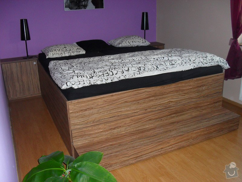 Výroba ložnice: SDC11574